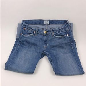NWOT HUDSON JEANS Muse Crop Skinny W/5in Cuff Size